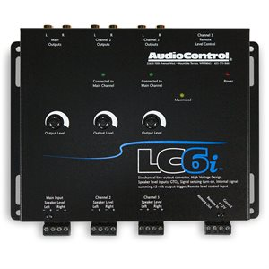 AudioControl 6 Ch Line Out Converter w / Internal Summing