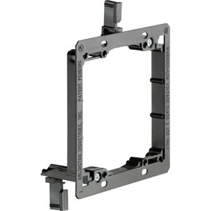 Arlington 2-Gang Low-Voltage Mounting Bracket
