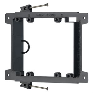 Arlington 2-Gang Nail-On Low-Voltage Mounting Bracket