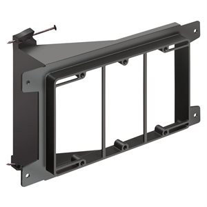 Arlington 3-Gang Nail-On Low-Voltage Mounting Bracket