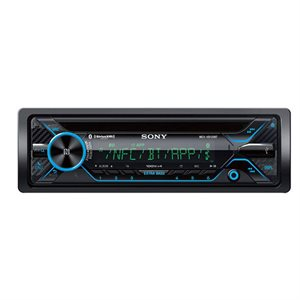 Sony Hi-Power CD Receiver with Digital Amp and Bluetooth