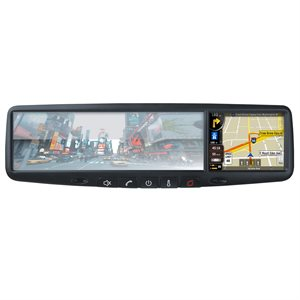"Rydeen 3.5"" Touchscreen Rear View Mirror Navigation"