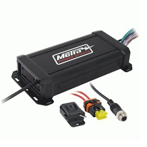 Metra 4-Channel Class D Powersports Mini Amplifier, 360W Max