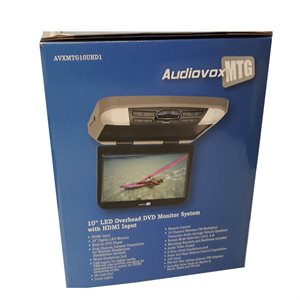 "Movies2Go 10.1"" Digital HD Overhead Monitor System w / DVD / HD Inputs (NON-transfer capability)"