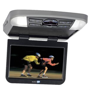 "Movies2Go 13.3"" Hi-Res LED Overhead Video Monitor w / Built-in DVD Player & HDMI Input"