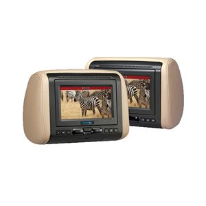 "Movies2Go 7"" Headrest LCD Monitor System"