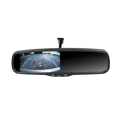 "Rydeen 4.3"" Mirror Monitor Dual Video Inputs, Dual Temp Sensors and Compass Built In, w /  VSMAV Mount"