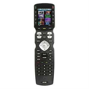 URC IR / RF Hard Button Remote Control with Color LCD (433 MHz)