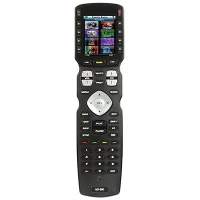 URC IR / RF Hard Button Remote with Color LCD