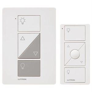 Lutron Caséta Wireless Plug-In Dimmer w / Pico RC Kit (white)