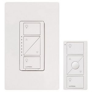Lutron Caséta Wireless In-Wall Dimmer w / Pico RC Kit (white)