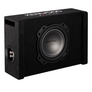 "Kenwood 8"" Subwoofer in Vented Enclosure 300W RMS Power"