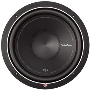"Rockford Punch P1 12"" 2 Ohm Subwoofer (single)"