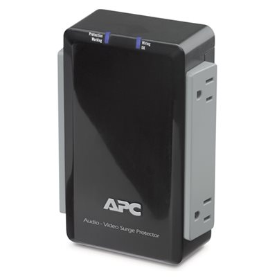APC 4-Outlet 120V Surge Protector