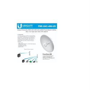 Ubiquiti PowerBeam 2.4GHz High-Performance airMAX ac Bridge