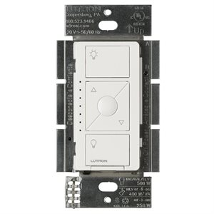 Lutron Caséta In-Wall ELV+ Dimmer (white)