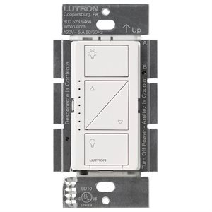 Lutron Caséta Wireless Multi-Location In-Wall Dimmer (white)