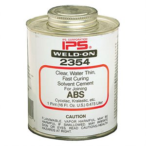 Mobile Solutions 16oz IPS Weld-On #2354 (ABS)
