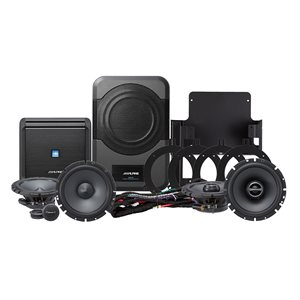 Alpine '07-14 Jeep Direct Fit Complete Speaker System