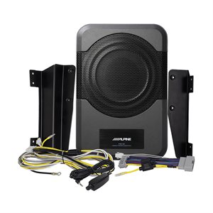 Alpine '11-Up Jeep Wrangler Compact Powered Subwoofer