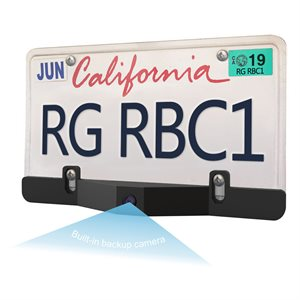 Roadgear LicensePlate Bar Radar BlindSpot Detection w / Camera
