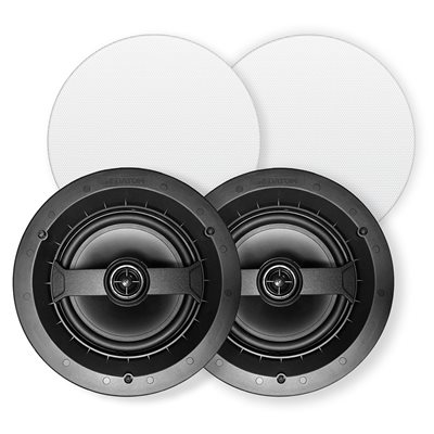 "Red Atom 6.5"" Round 2-Way In-Ceiling Speakers (pair)"