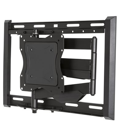 "Red Atom 24""-65"" Full Motion Wall Mount w /  Dual Wall Plate"