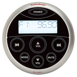 Rockford Remote with Digital Display Waterproof LCD Touch