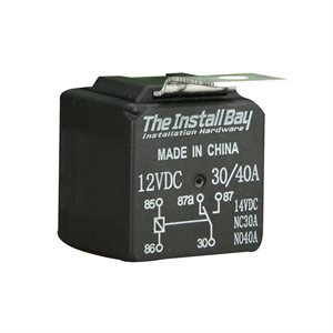 Install Bay Economy 12 Volt 30 / 40 Amps Relay (single)