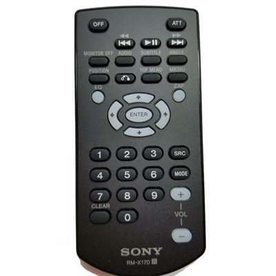 Sony Remote Control for XAV and XNV series Receivers