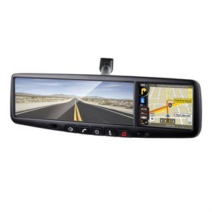 "RoadGear 3.5"" TS RearView Mirror Navigation Inc VSM-AN Mount"