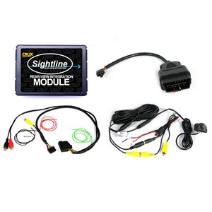 Crux Volkswagen Rear View Integration Interface and Camera