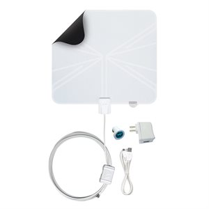 Winegard Rayzar Ultra-Thin Amplified Portable HDTV Antenna