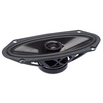 "PowerBass 4""x10"" OEM Replacement Coaxial Speakers (pair)"
