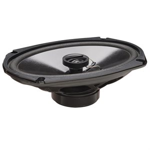 "PowerBass 6""x9"" Thin Mount Full-Range Coax Speakers (pair)"