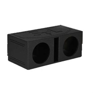 "SPL Boxes 2 Hole 12"" Vented Finished w / Bed Liner"