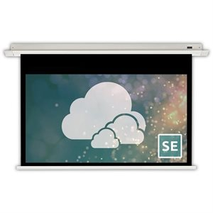 "Severtson 100"" 16:9 Spirit Series Motorized (matte white)"