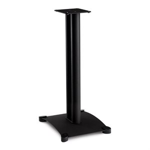 "Sanus Steel Series 26"" Tall Speaker Stand (black, pair)"