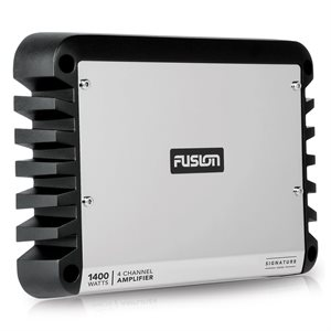Fusion Marine 1,400W Class D 4 Channel Amplifier