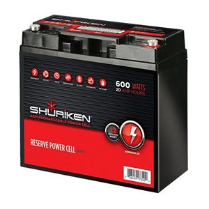 Shuriken 600W 20 Amp Hours Compact 12V Battery
