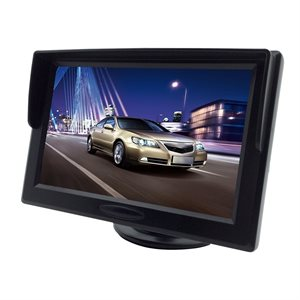 "RoadGear 5"" WVGA BackUp Monitor 2 Video Input w / Auto Trigger"