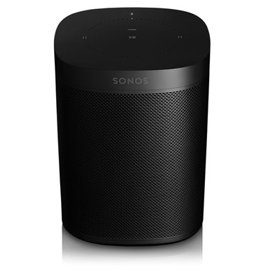 Sonos One Voice Controlled Speaker Gen 2 (single, black)