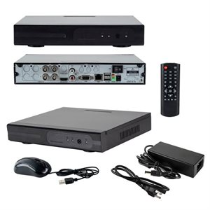Spyclops 4 Channel 1TB Hybrid Security DVR