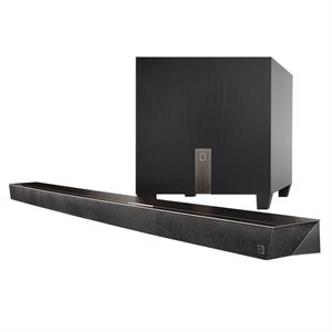 Def Tech 3.1 Ch.l Ultra Slim Sound Bar w /  wireless sub & BT