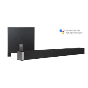 Def Tech 5.1 Channel Ultra Slim Sound Bar dolby Digital w /  wireless Sub