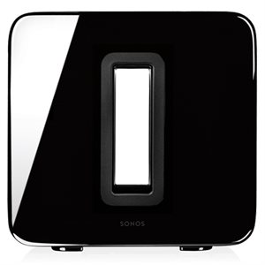 Sonos SUBG1US1BLK  Wireless Subwoofer (gloss black)