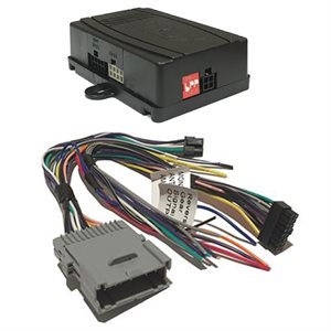Crux GM Class II Radio Replacement with SWC Retention Kit