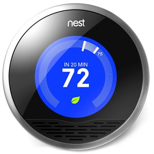 Nest Learning Thermostat 3rd Generation (stainless)