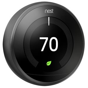 Nest Learning Thermostat 3rd Generation (black)