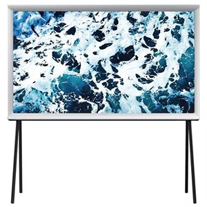 "Samsung 40"" Serif 4K UHD LED TV (white)"